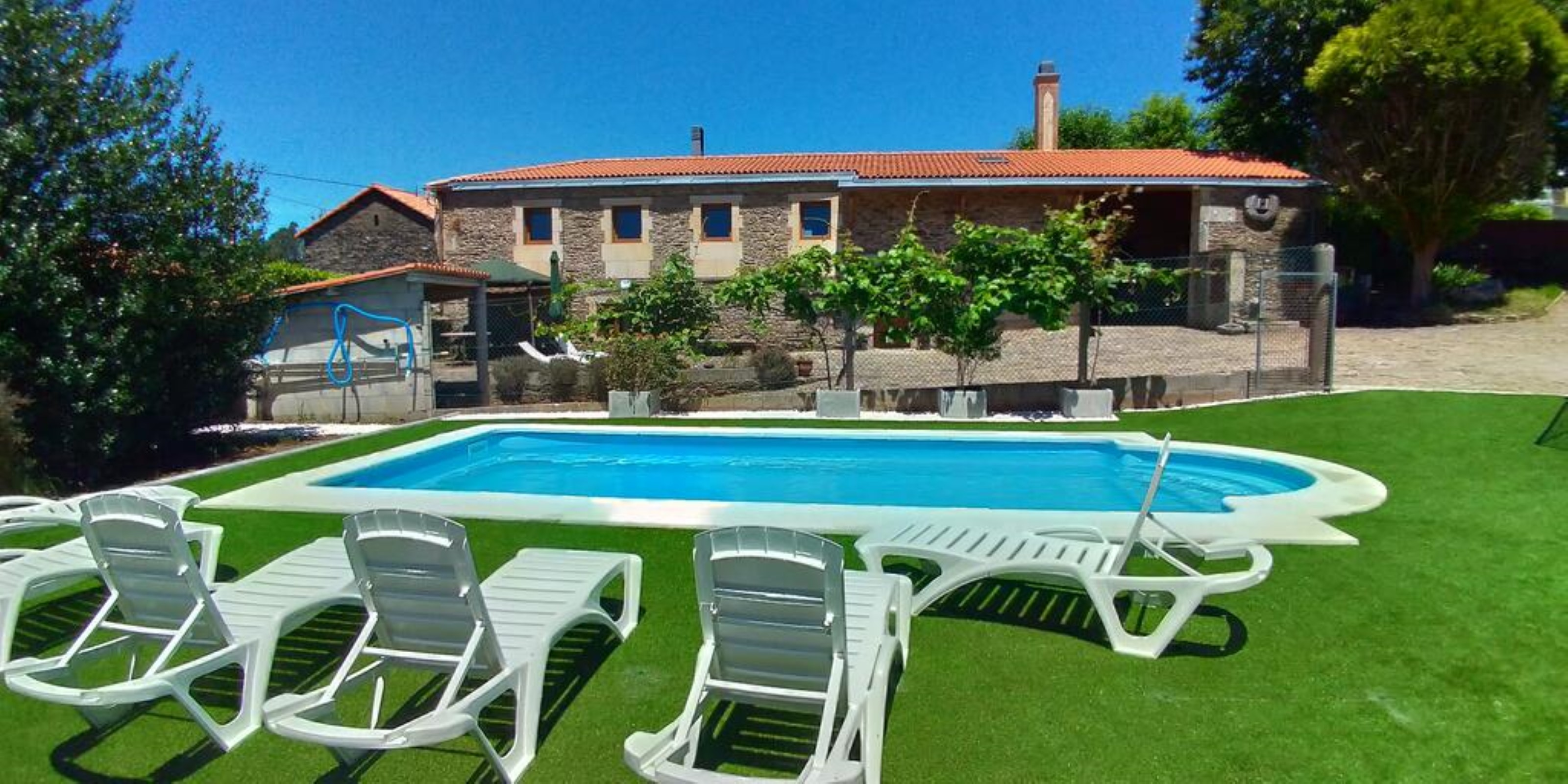 House - 4 Bedrooms with Pool and WiFi - 108716 Ferienhaus  Galizien