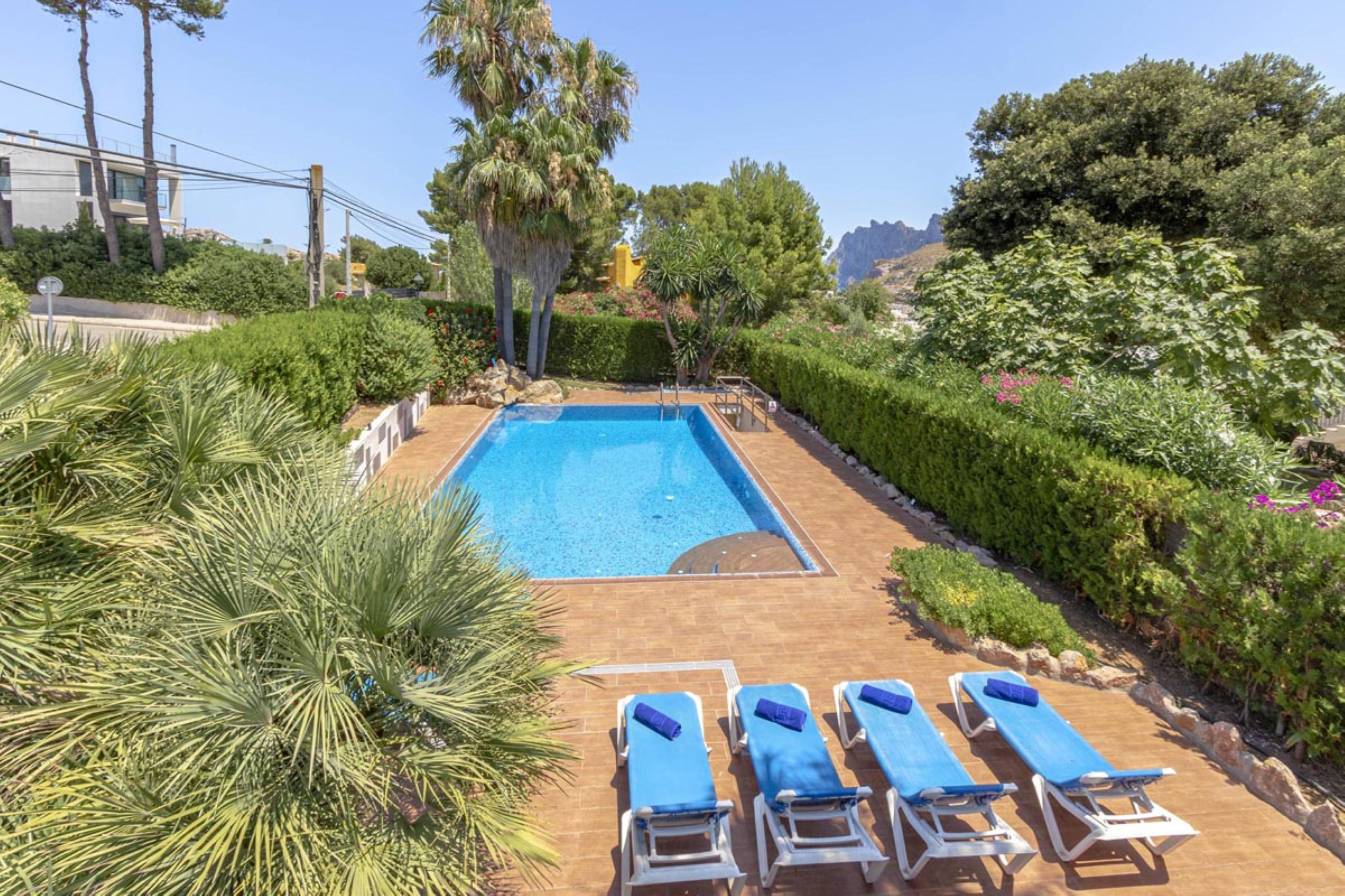Villa 3 Bedrooms with Pool and WiFi 108754
