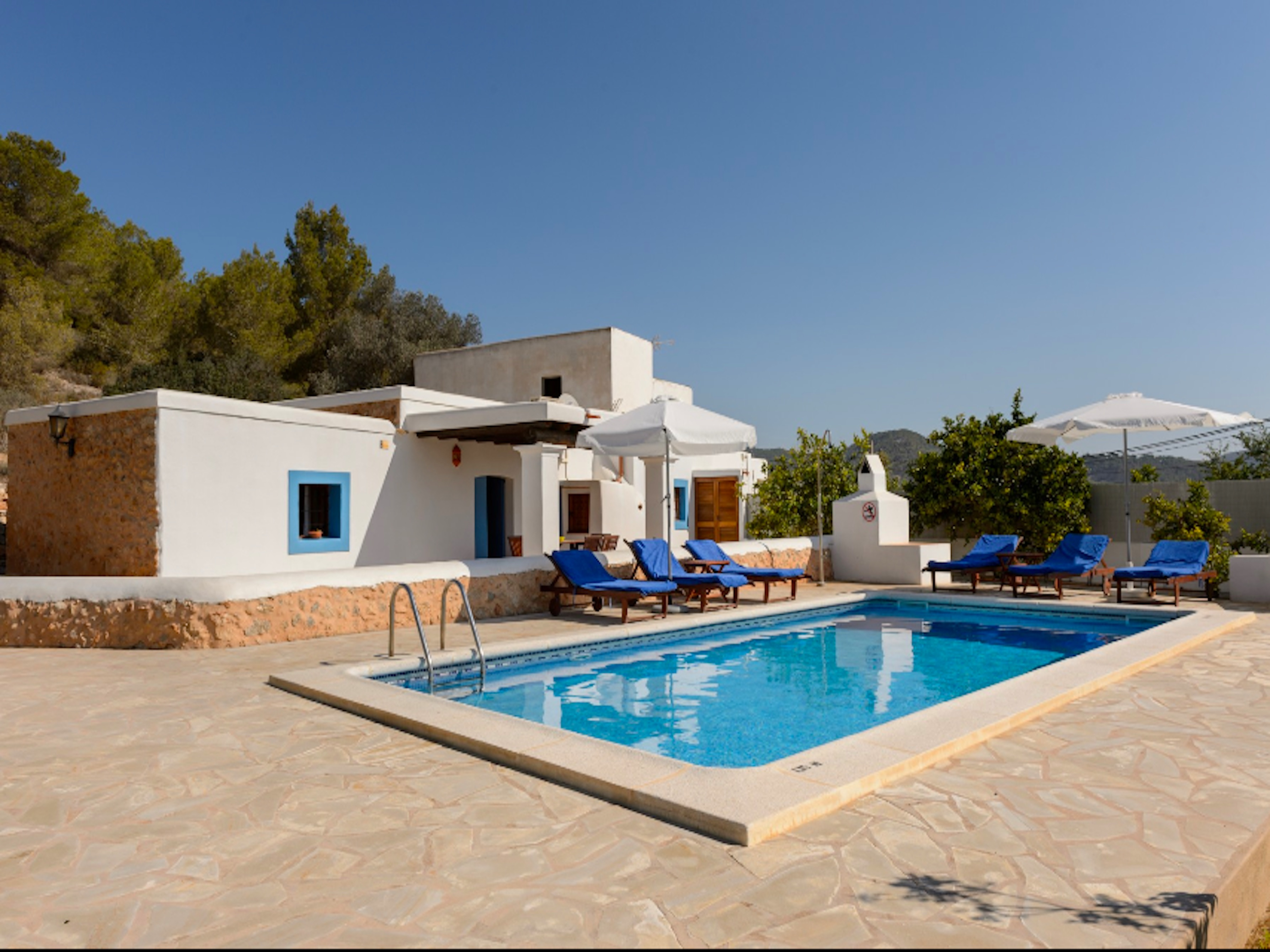 Villa 3 Bedrooms with Pool and WiFi 109330